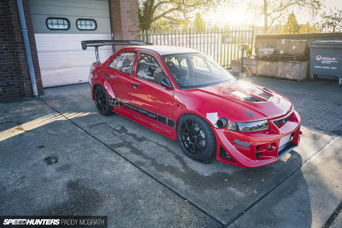 Ross Sport Evo Creating A Monster  Speedhunters