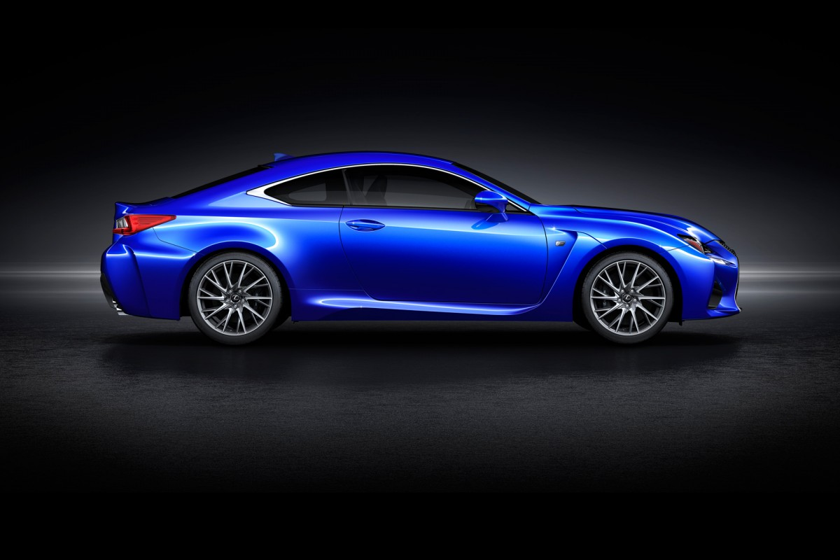 No Turbos Here: The V8 Lexus RCF