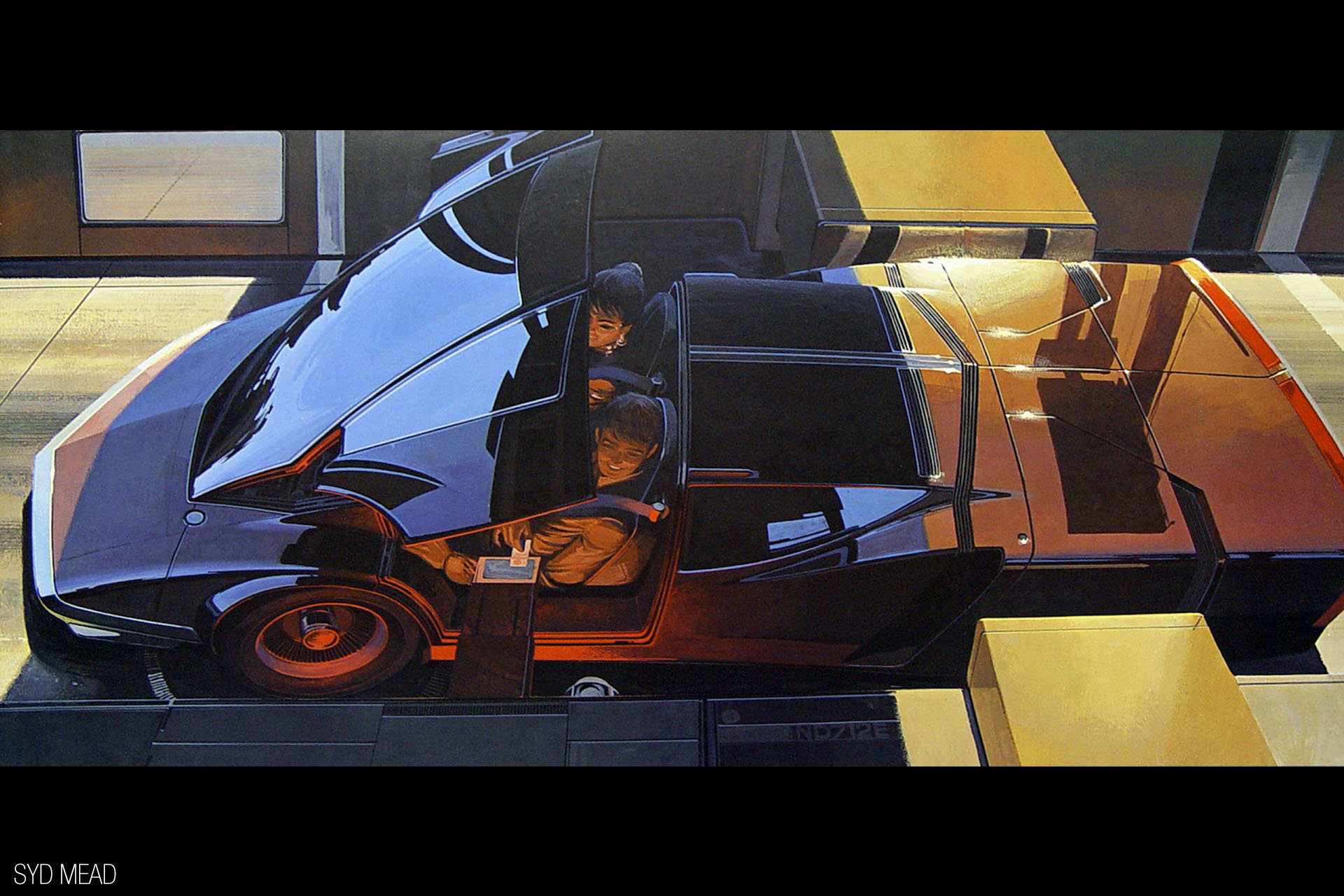 How Do You Design The Future Ask Syd Mead Speedhunters