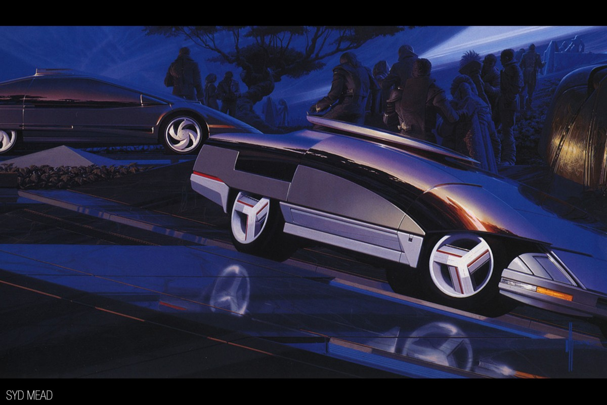 How Do You Design The Future? Ask Syd Mead - Speedhunters