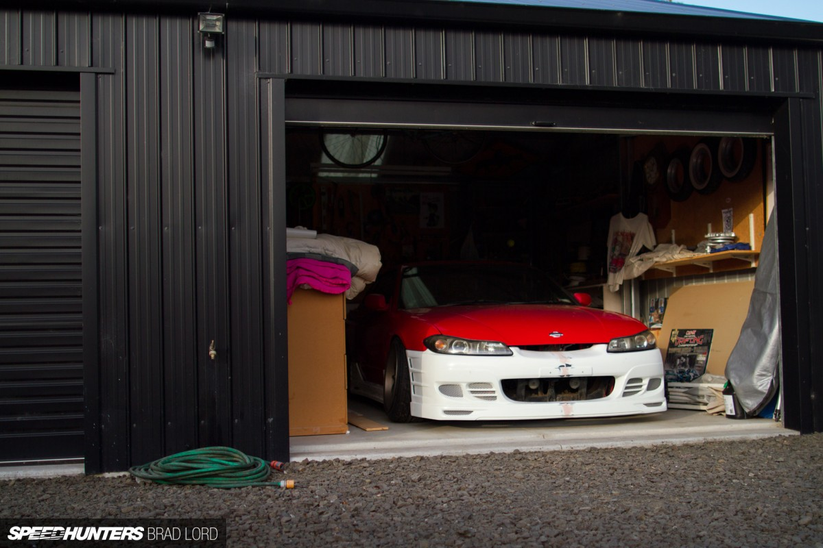 Nz's temple of drift: inside c's garage   speedhunters