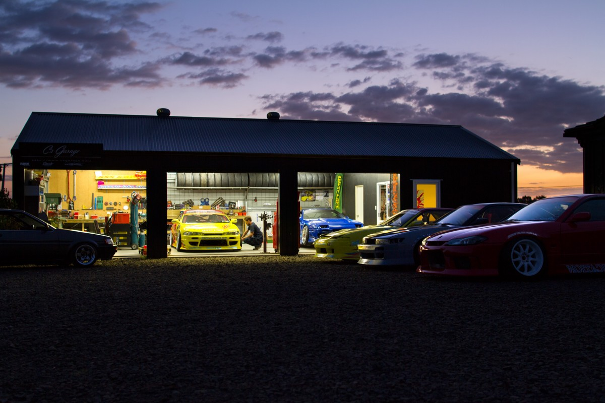 NZ's Temple Of Drift: Inside C's Garage