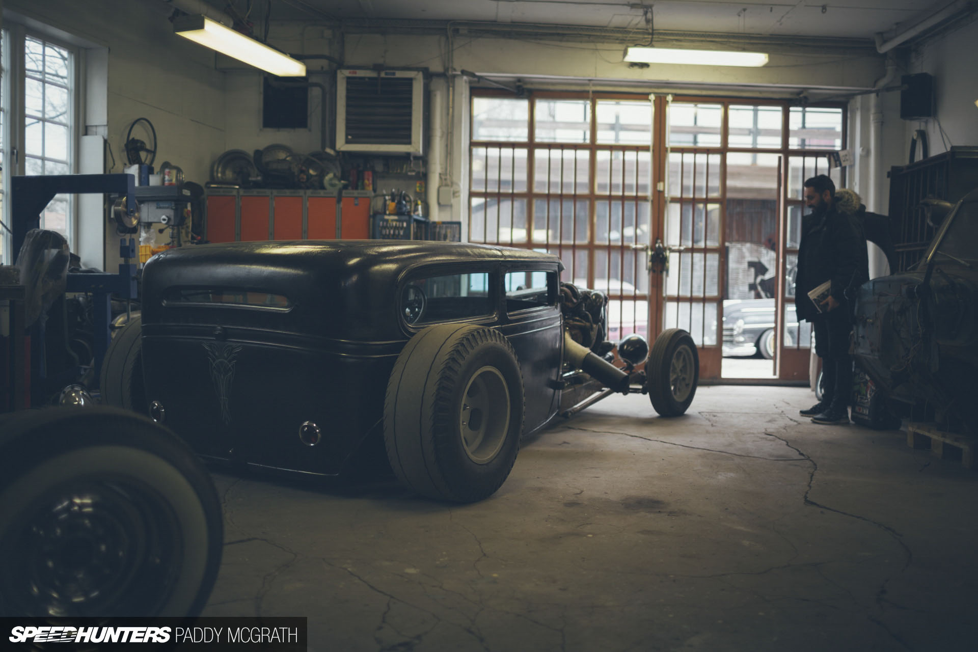 home is where you build it the slammer garage speedhunters woodshop workshop 2nd floor of garage