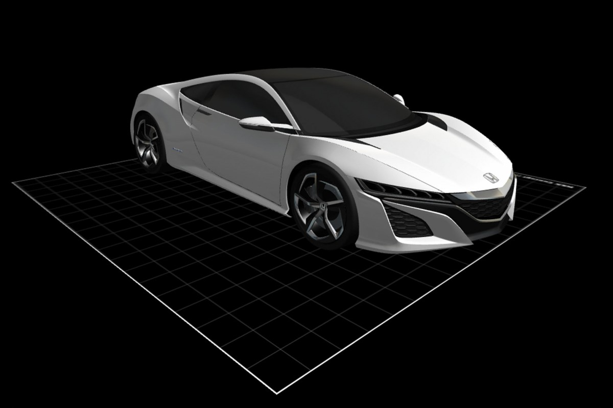 3D Dreams: Download, Modify And Print Your OwnHonda!
