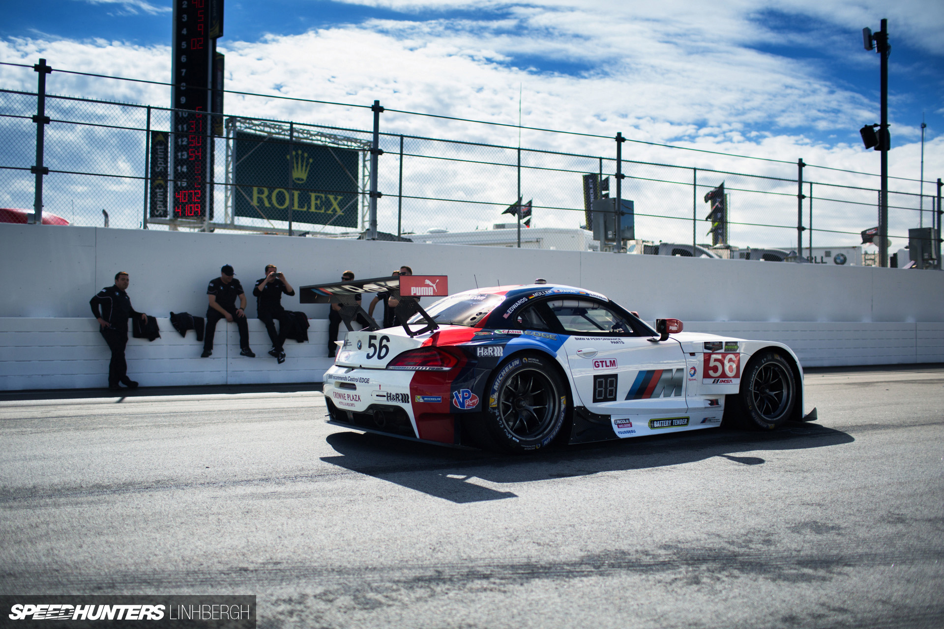Pain, Guts, Glory... And Chilli FriesBMW Does The Daytona 24 Hours