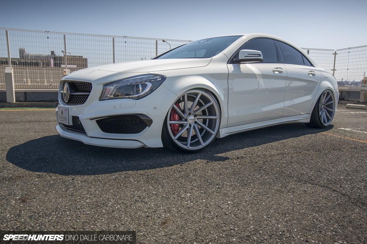 Image Gallery Slammed Mercedes 250