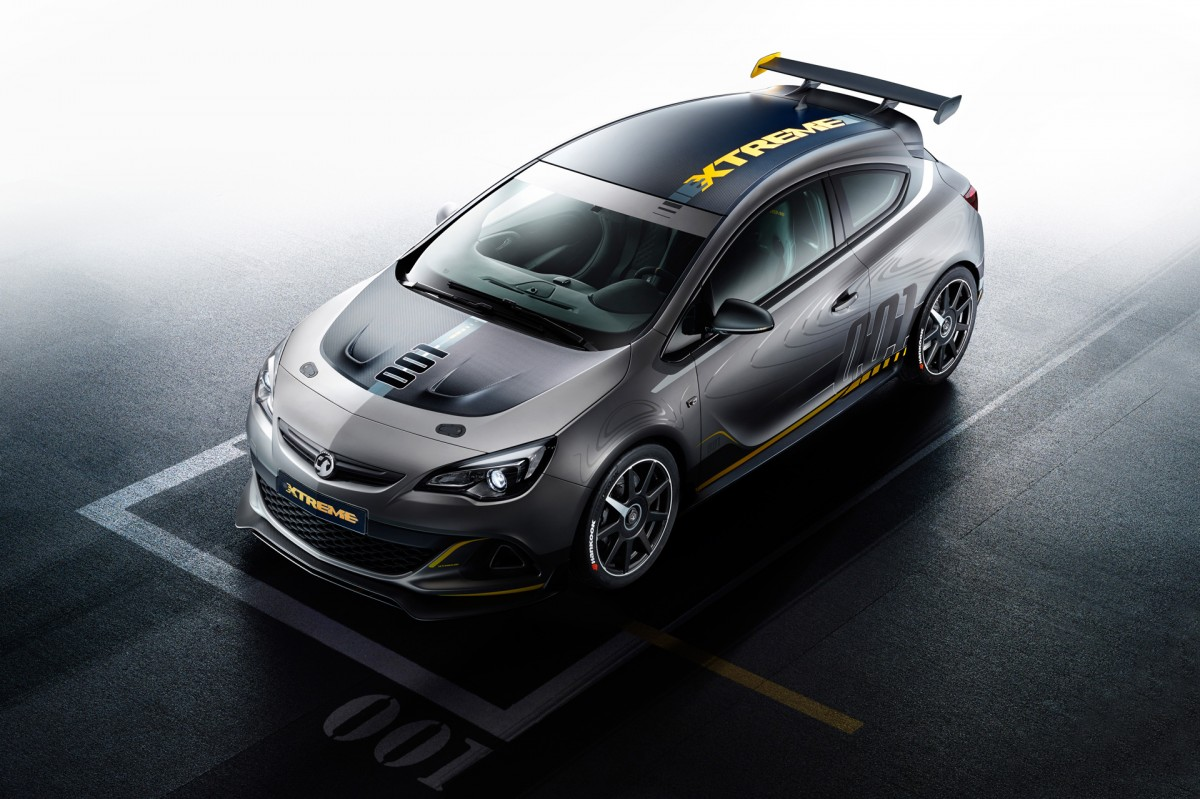 Vauxhall Builds A Racer For TheStreet