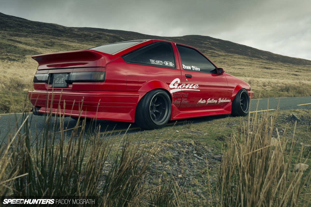 Running Free: A J-Style Street Drift AE86… Made In Ireland