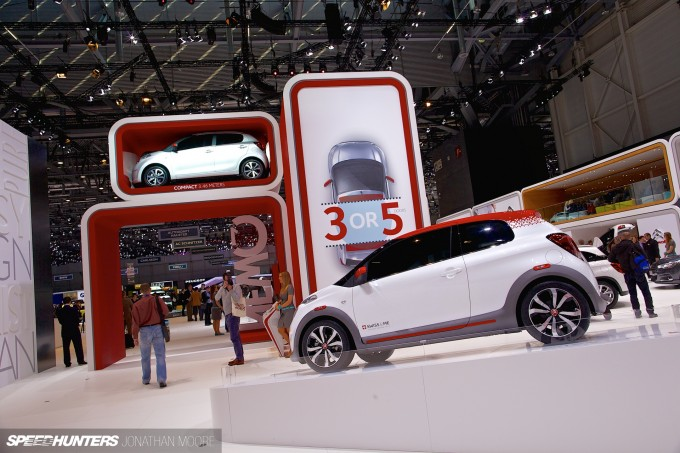 The 84th International Motor Show at Palexpo, Geneva, Switzerland, 3-6 March 2014