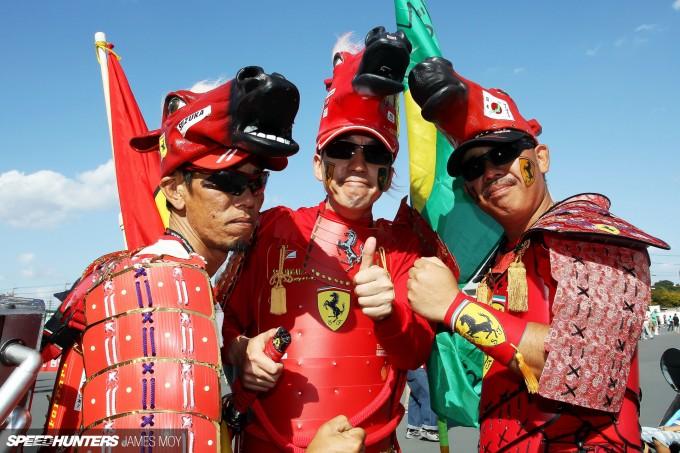 Motor Racing - Formula One World Championship - Japanese Grand Prix - Qualifying Day - Suzuka, Japan