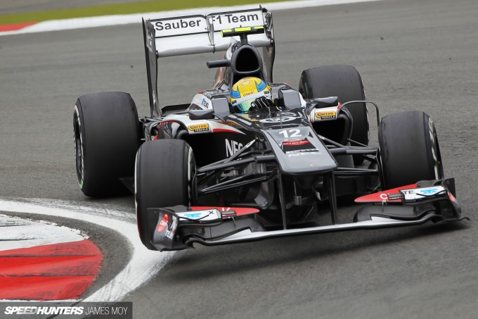 Motor Racing - Formula One World Championship - German Grand Prix - Practice Day - Nurburgring, Germany