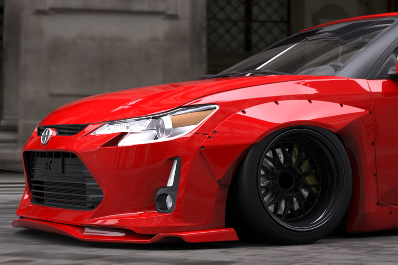 Tricked Out Scion Tc >> Suits Racing. Aasbø and Rocket Bunny Mean Business ...