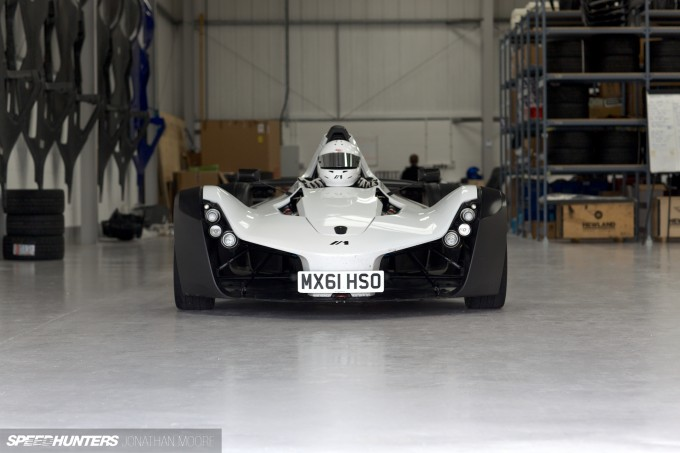The Briggs Automotive Company HQ in Liverpool the production facility for the MONO