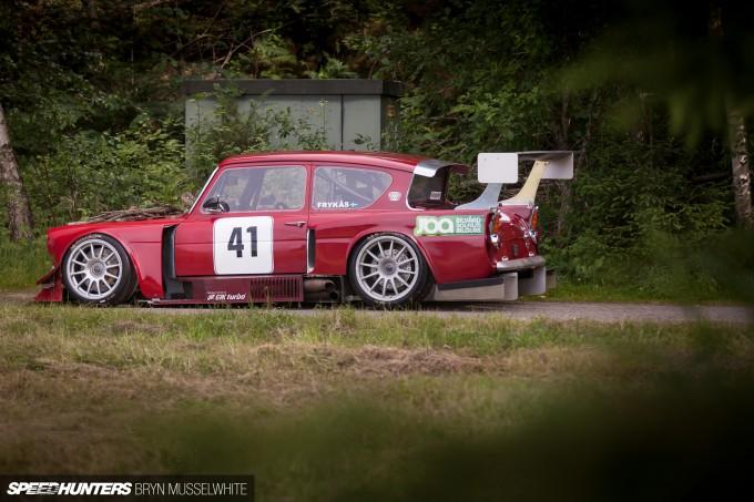 Kjell Volvo Anglia Touring Car Sweden-22