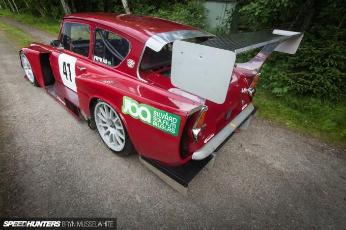 Kjell Volvo Anglia Touring Car Sweden-26
