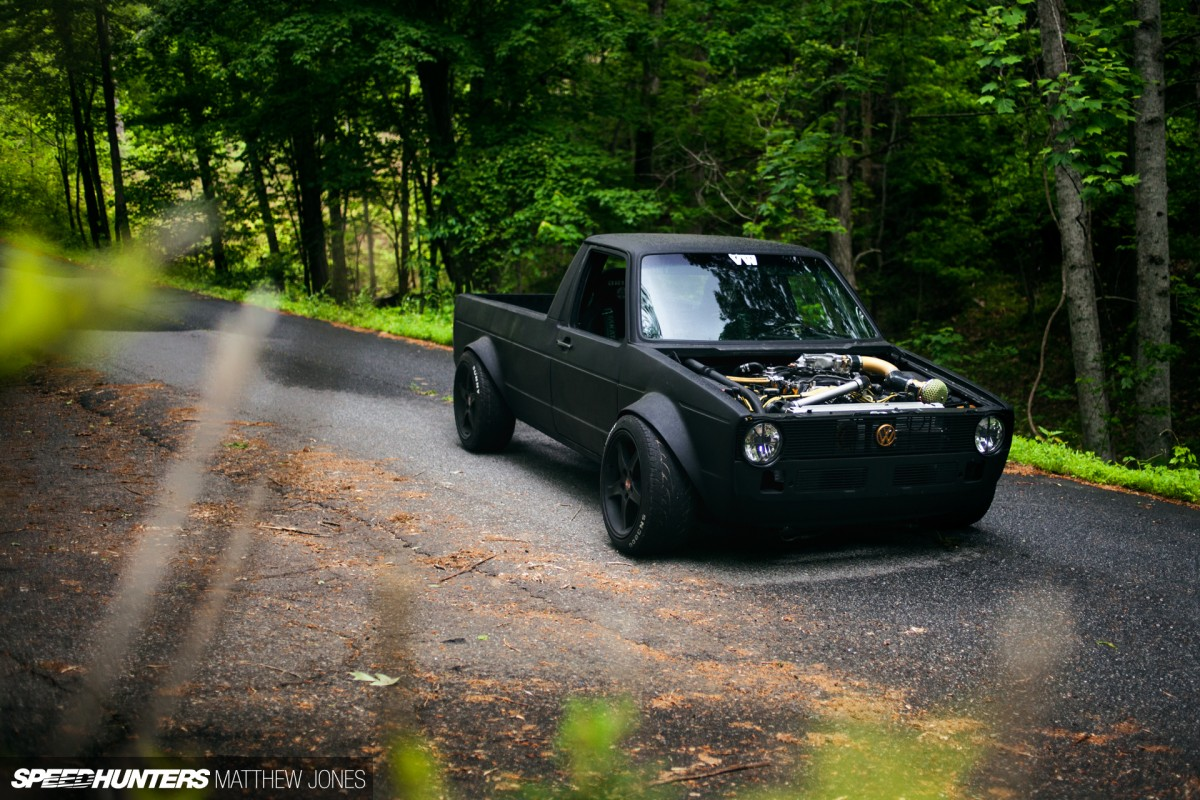 The VW Caddy From Hell Speedhunters