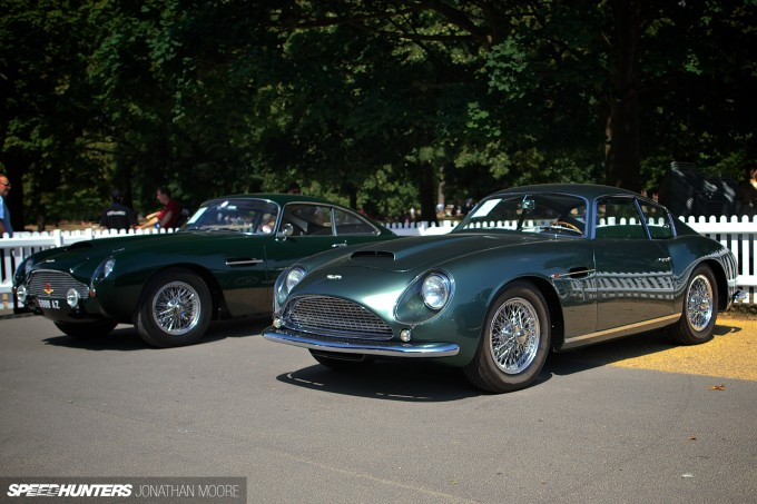 The Centenary Celebration event at Kensington Gardens, London, bringing together the largest collection of Aston Martins n history to celebrate the hundredth anniversary of the company