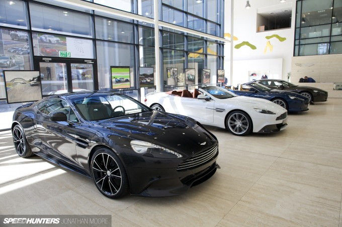 Marek Reichman, Aston Martin's Director Of Design, at the company's headquarters in Gaydon