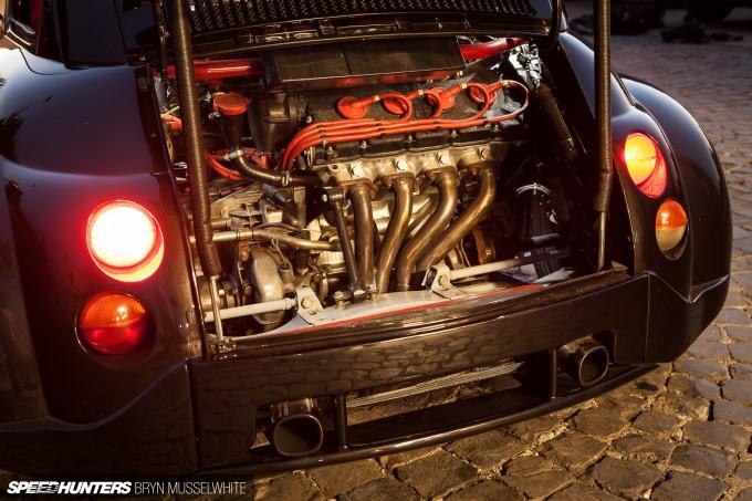Oemmedi Meccanica Ferrari V8 Fiat 500 -25