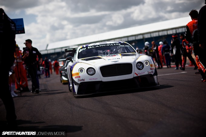 Round 2 of the 2014 Blancpain Endurance Series at Silverstone in the United Kingdom