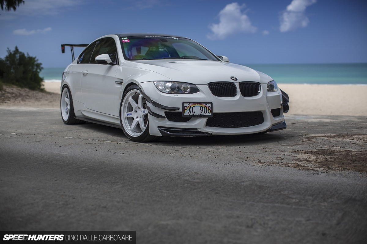 A BMW M3 With A JDM Twist