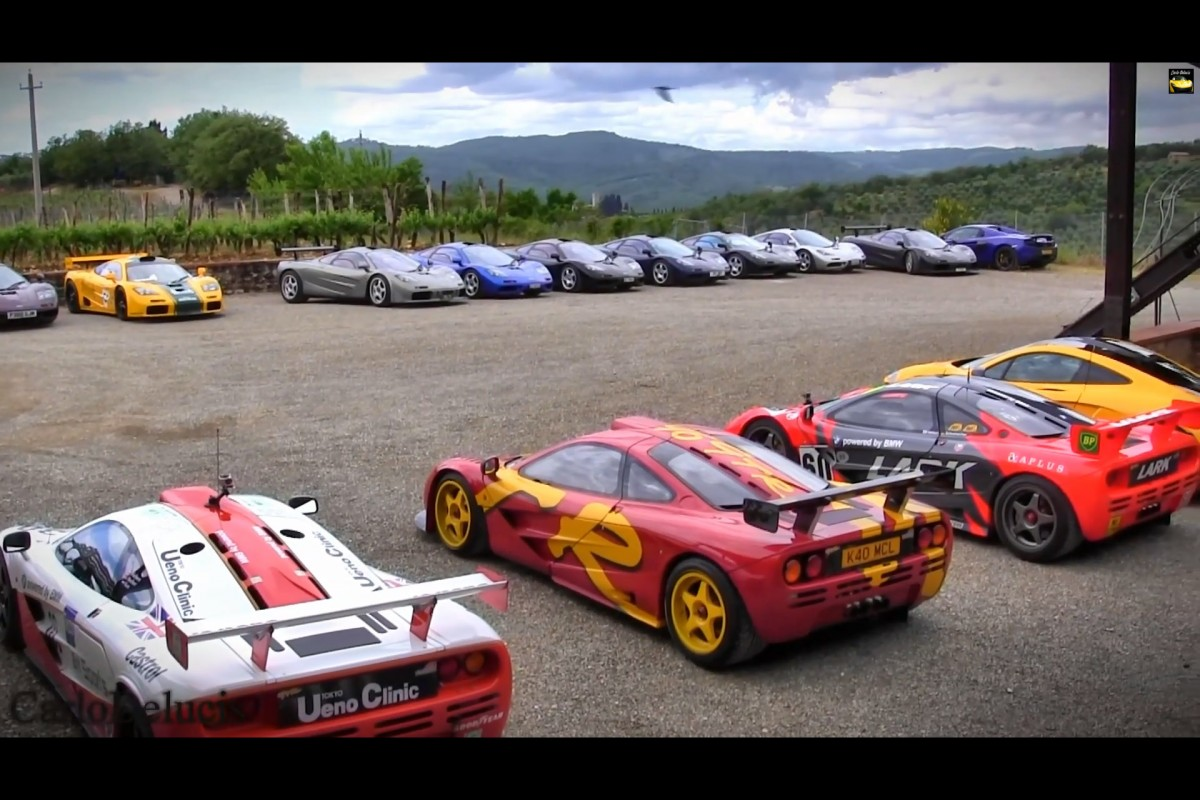 Fill The Parking Lots With McLarenF1s