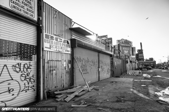 Willets Point NYC Citi Field BW-32