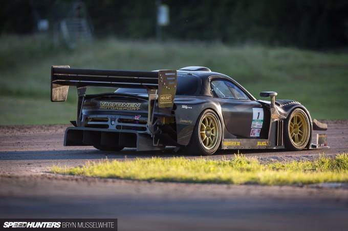 Valtonen RX7 carbon SR20 Gatebil Mantorp 2014-10