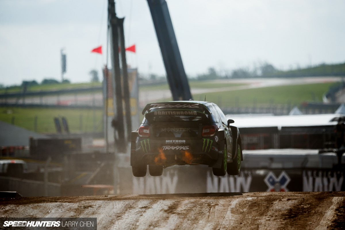 Little Rocket Ships Of X Games Rallycross