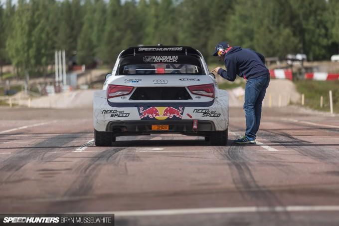 Edward Sandstrom Audi S1 Rallycross EKS-105