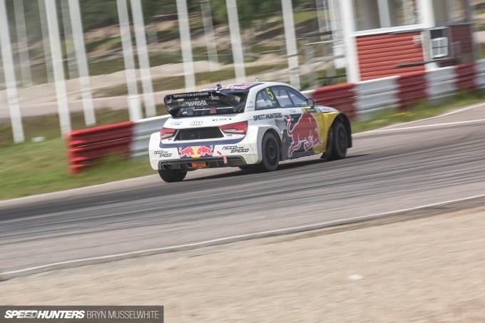 Edward Sandstrom Audi S1 Rallycross EKS-127