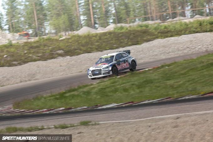 Edward Sandstrom Audi S1 Rallycross EKS-132