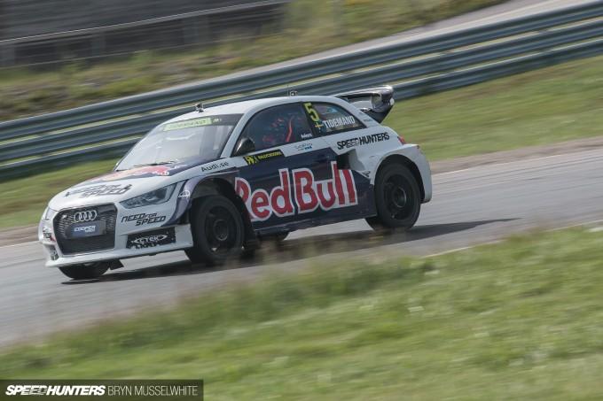 Edward Sandstrom Audi S1 Rallycross EKS-26