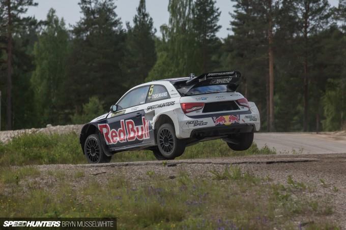 Edward Sandstrom Audi S1 Rallycross EKS-43
