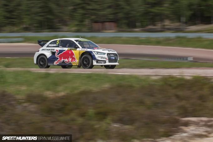 Edward Sandstrom Audi S1 Rallycross EKS-53