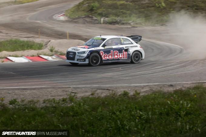 Edward Sandstrom Audi S1 Rallycross EKS-56
