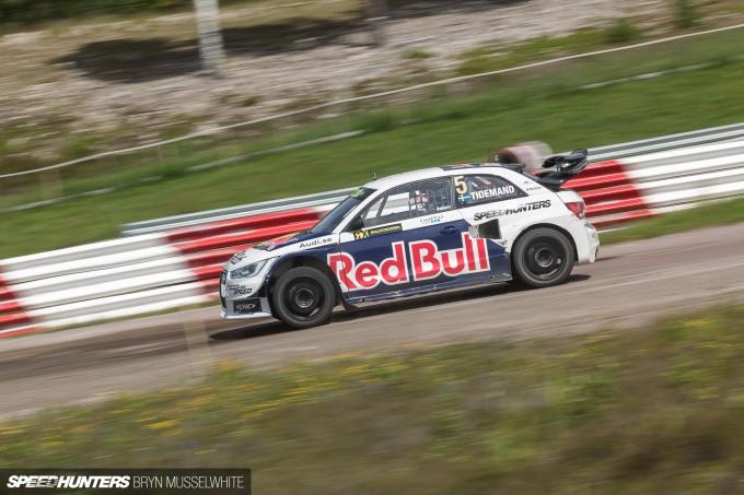 Edward Sandstrom Audi S1 Rallycross EKS-87