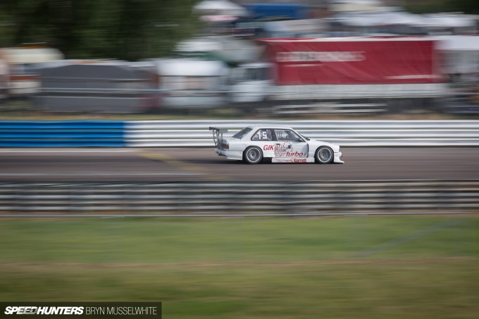 BMW E30 DTM M3 Gatebil Mantorp Park -22