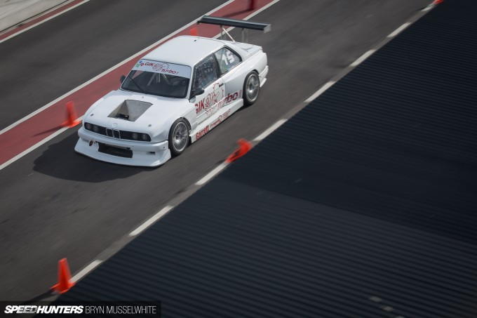 BMW E30 DTM M3 Gatebil Mantorp Park -27