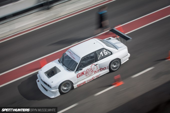 BMW E30 DTM M3 Gatebil Mantorp Park -28