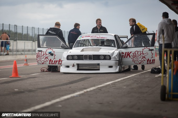 BMW E30 DTM M3 Gatebil Mantorp Park -34