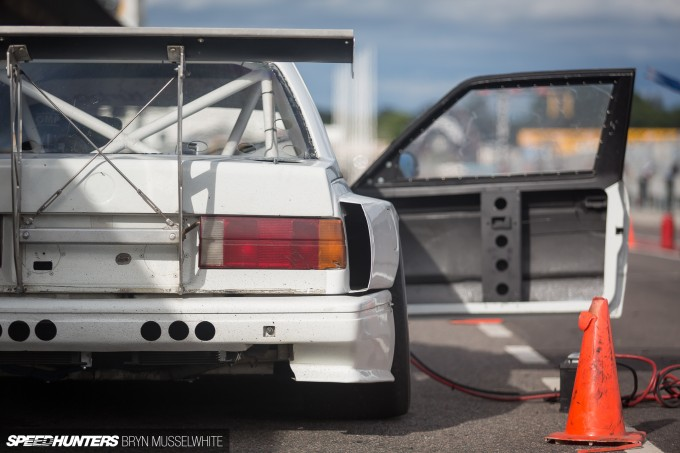 BMW E30 DTM M3 Gatebil Mantorp Park -38