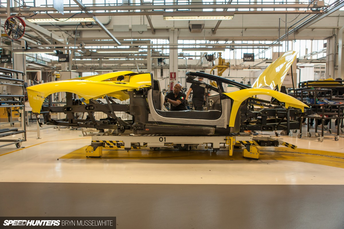 This Is Where New Lamborghinis Are Born