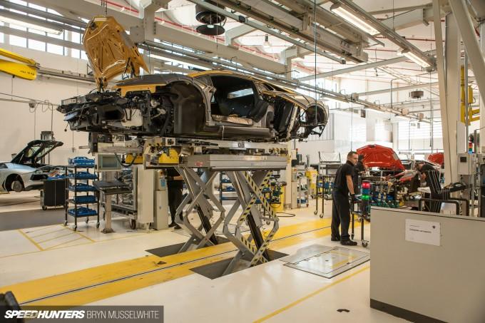 Lamborghini Factory Italy Aventador production line-22