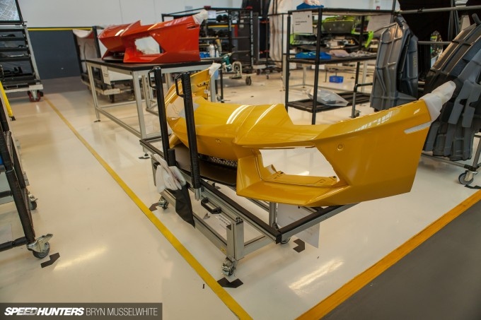Lamborghini Factory Italy Aventador production line-23