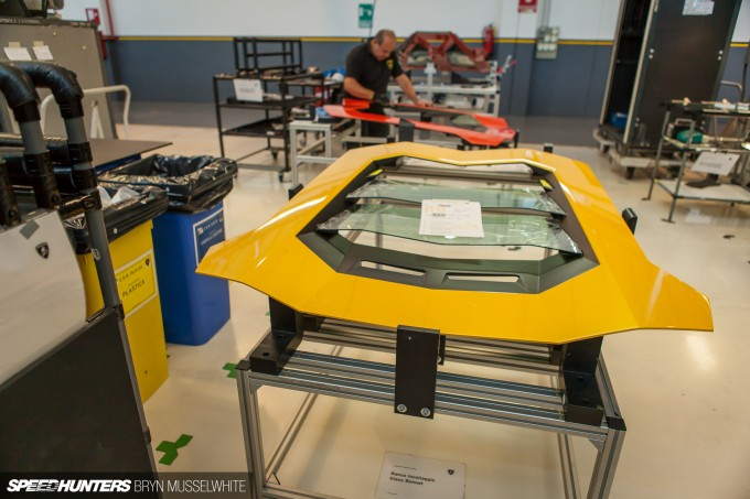 Lamborghini Factory Italy Aventador production line-26