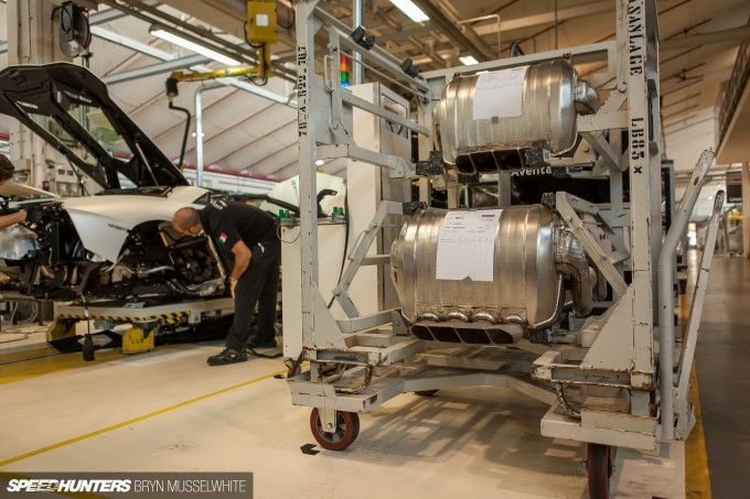 Lamborghini Factory Italy Aventador production line-30