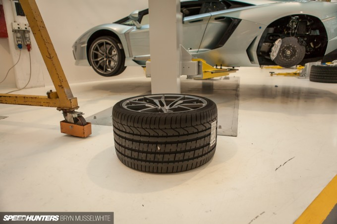 Lamborghini Factory Italy Aventador production line-31