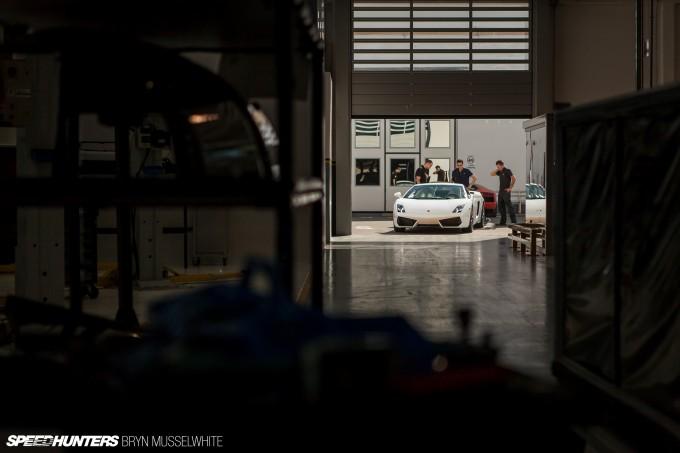 Lamborghini Factory Italy Aventador production line-32