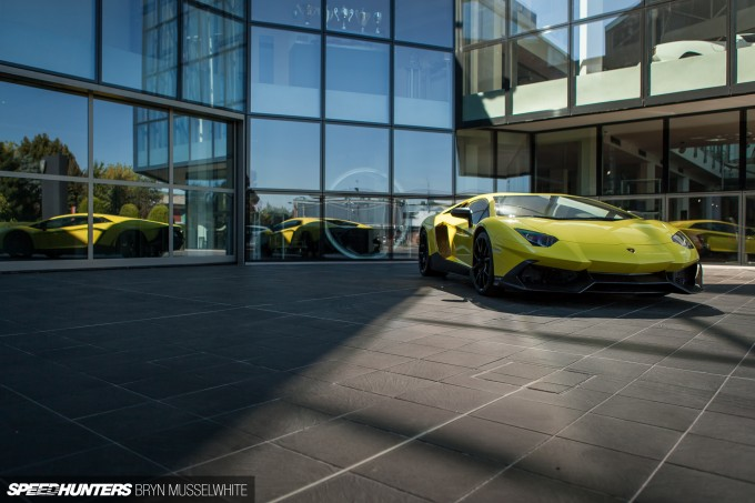 Lamborghini Factory Italy Aventador production line-39